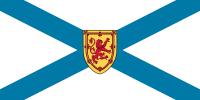 Flagge von Bergen